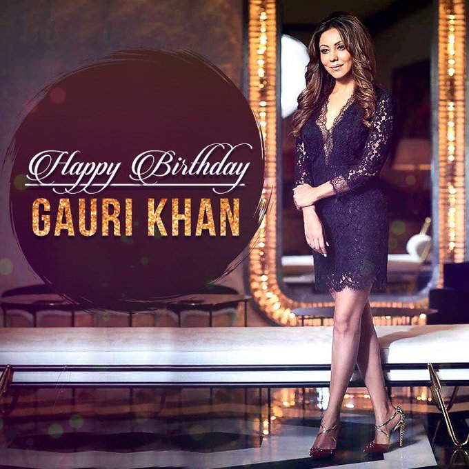 Birthday Gauri Khan -  with success -