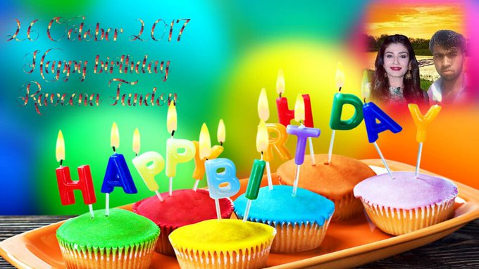 but beautiful Raveena Tandon g Happy birthday  birthday Mubarak ho 26 October