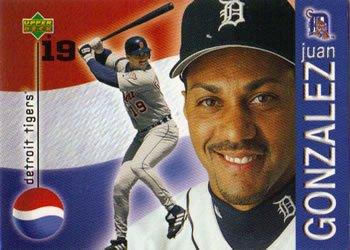 Happy 50th Birthday to Juan Gonzalez, outfielder & DH in 2000