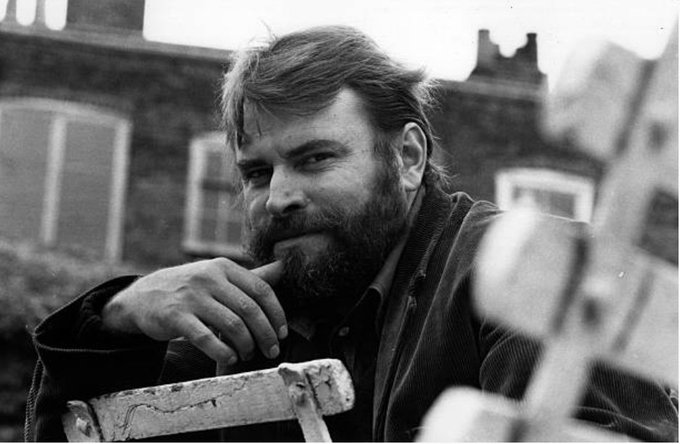 I look like a cross between a yeti and King Kong. Happy birthday Brian Blessed. Photo: Roy Jones