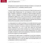 ❗️La CNMV aprueba la OPA de Atlantia $ATL sobre Abertis $ABE https://t.co/uPJzlO72M0