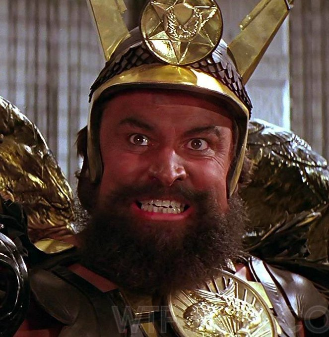 A happy 81st birthday to the force of nature and legend that is BRIAN BLESSED!!!!!