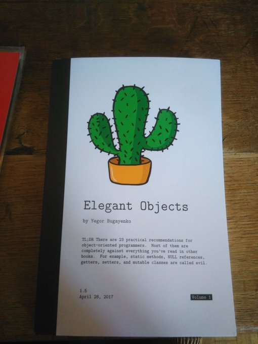 Le livre Elegant Objects
