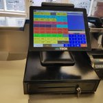 Starting the week off by sorting out George's chippy in Whitehaven with a brand new EPoS system. Thanks for choosing local!