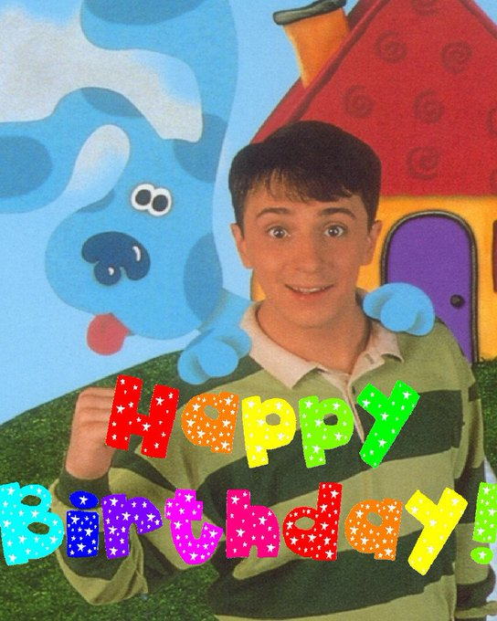 Happy Birthday to Steve Burns!
