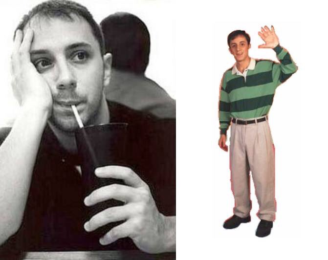 Happy 44th Birthday to Steve Burns! The actor who played Steve in Blue\s Clues.