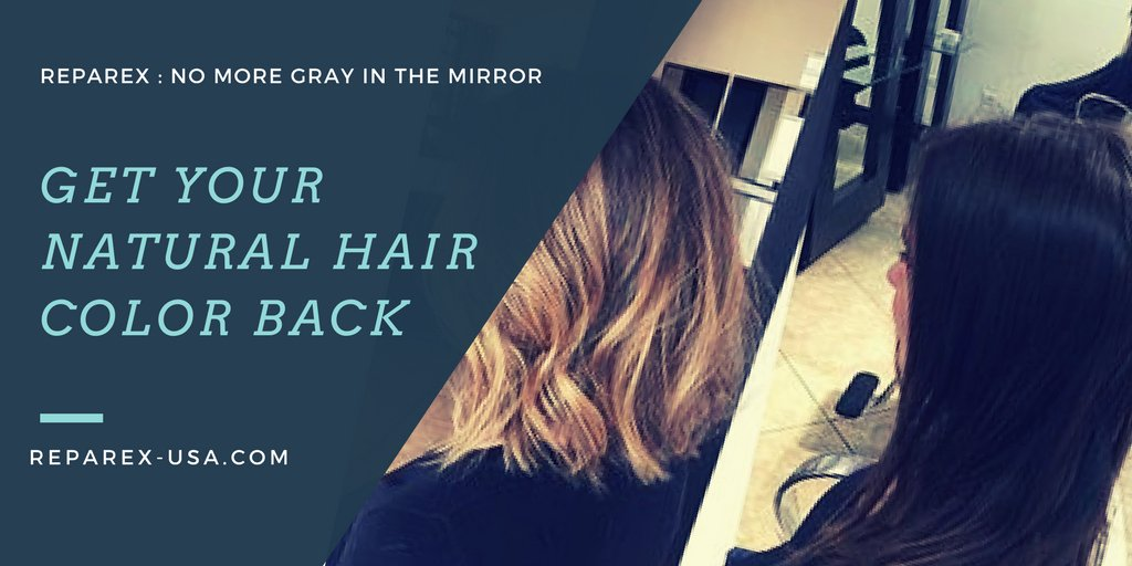 Reparex Usa On Twitter Get Your Natural Hair Color Back Easy To