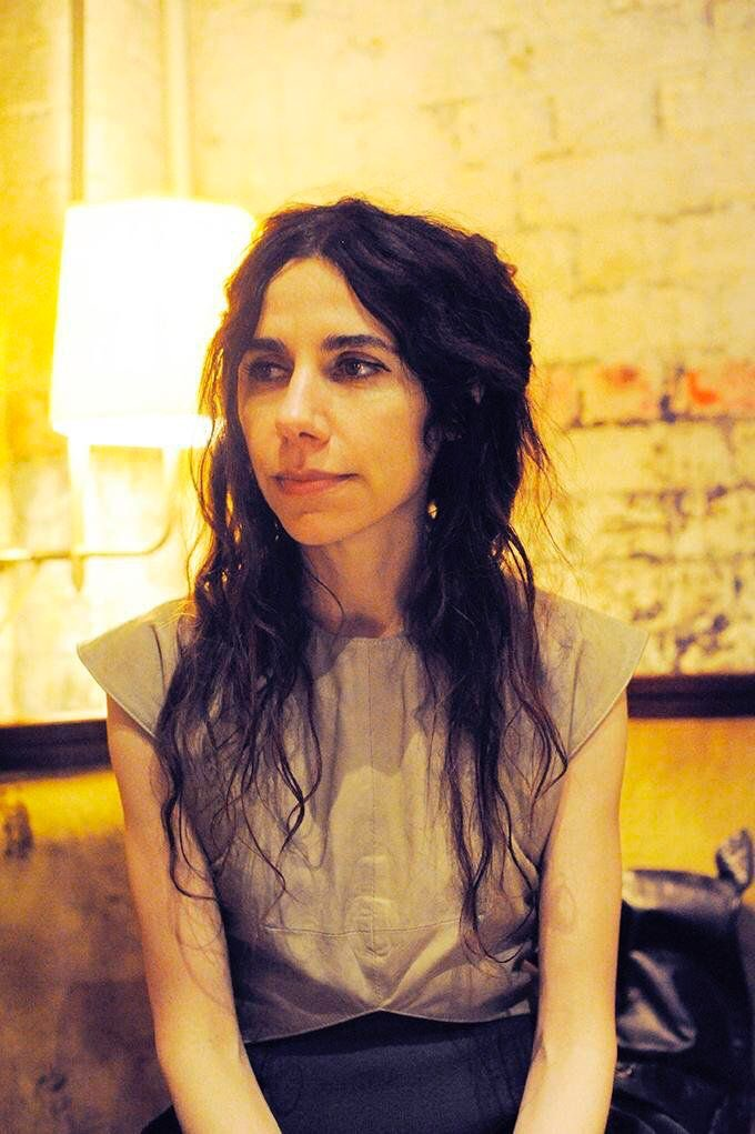 Also let\s say a Happy Birthday to PJ Harvey....