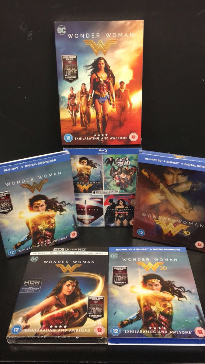 Hmv Croydon On Twitter Wonder Woman Is Out Today On Dvd