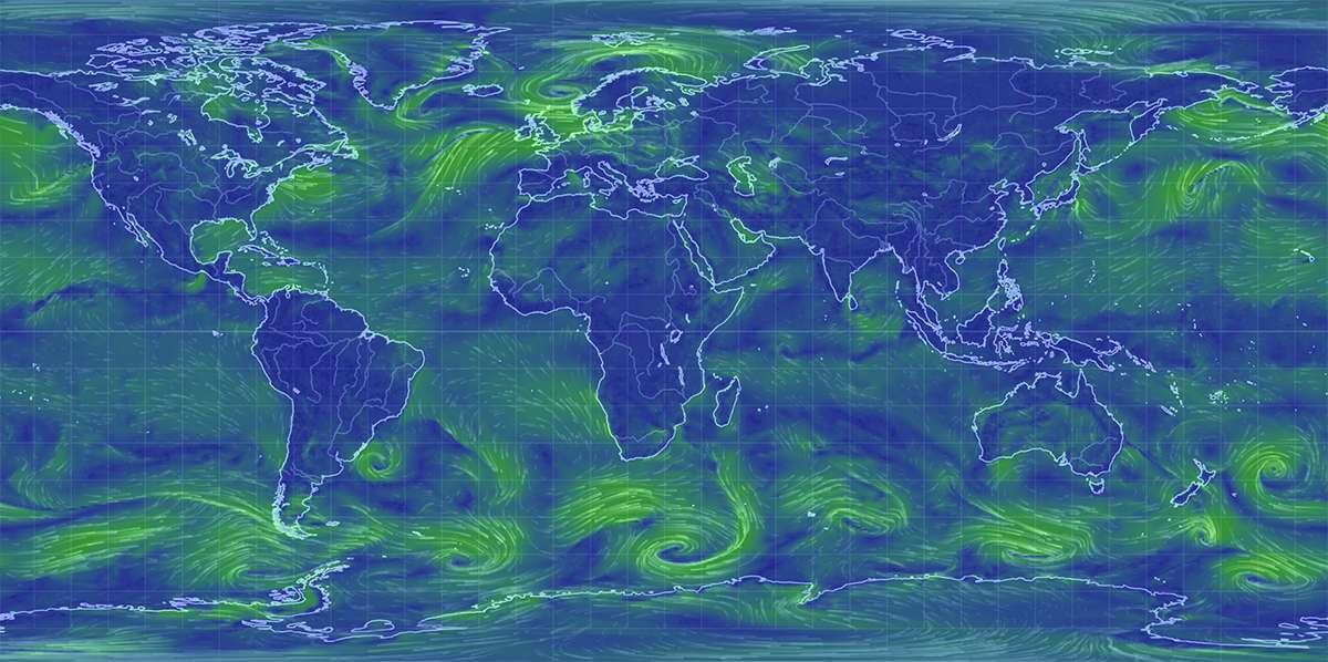 Карта мира с указанием всех городов