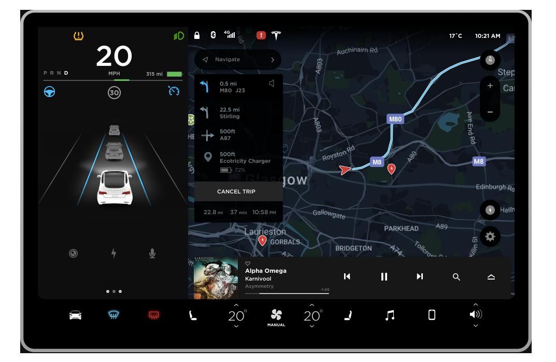 一个独立的设计师,怎么用 Tesla 新 UI 让全世界为之激动 // How a lone designer excited the world with the Tesla UI https://t.co/7XJsxF4Uds https://t.co/HQ2jGLXj6a 1