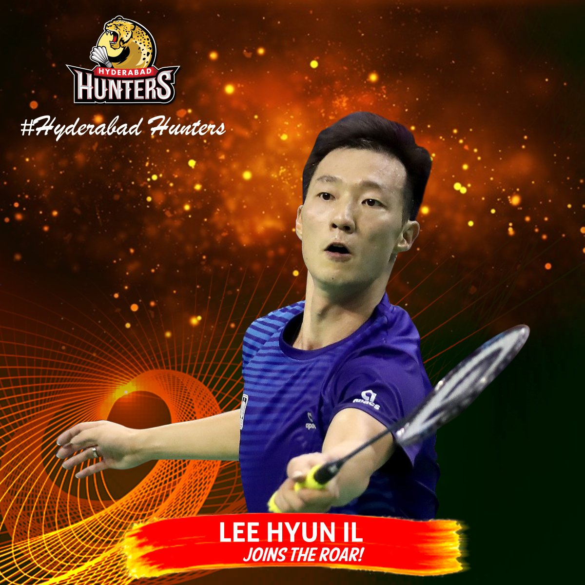 "HyderabadHunters on Twitter ""Lee Hyun Il joins HyderabadHunters"