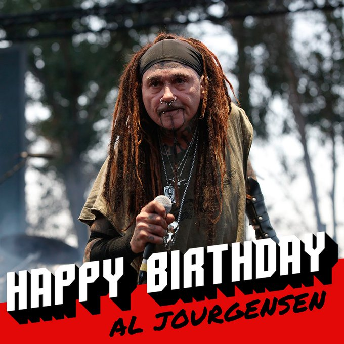 Loudwire: Happy 59th birthday to WeAreMinistry mastermind Al Jourgensen!
