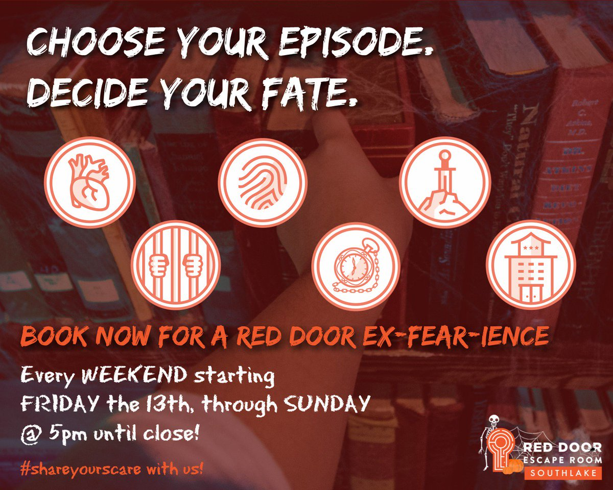 Red Door Escape Room On Twitter Make Your Decision For A Red Door