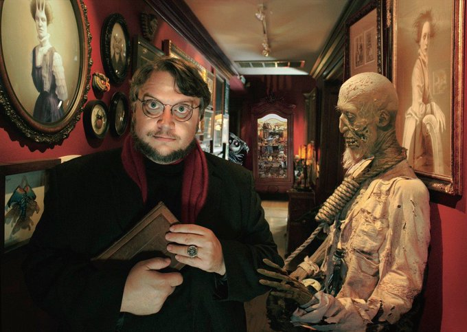 Two Guillermo del Toro messages back-to-back!  Wishing an extra happy birthday to...Guillermo del Toro, 53 today.