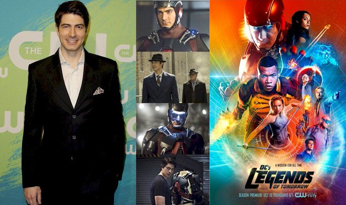Hoy cumple 38 años Brandon Routh (Ray Palmer / The Atom en Happy Birthday