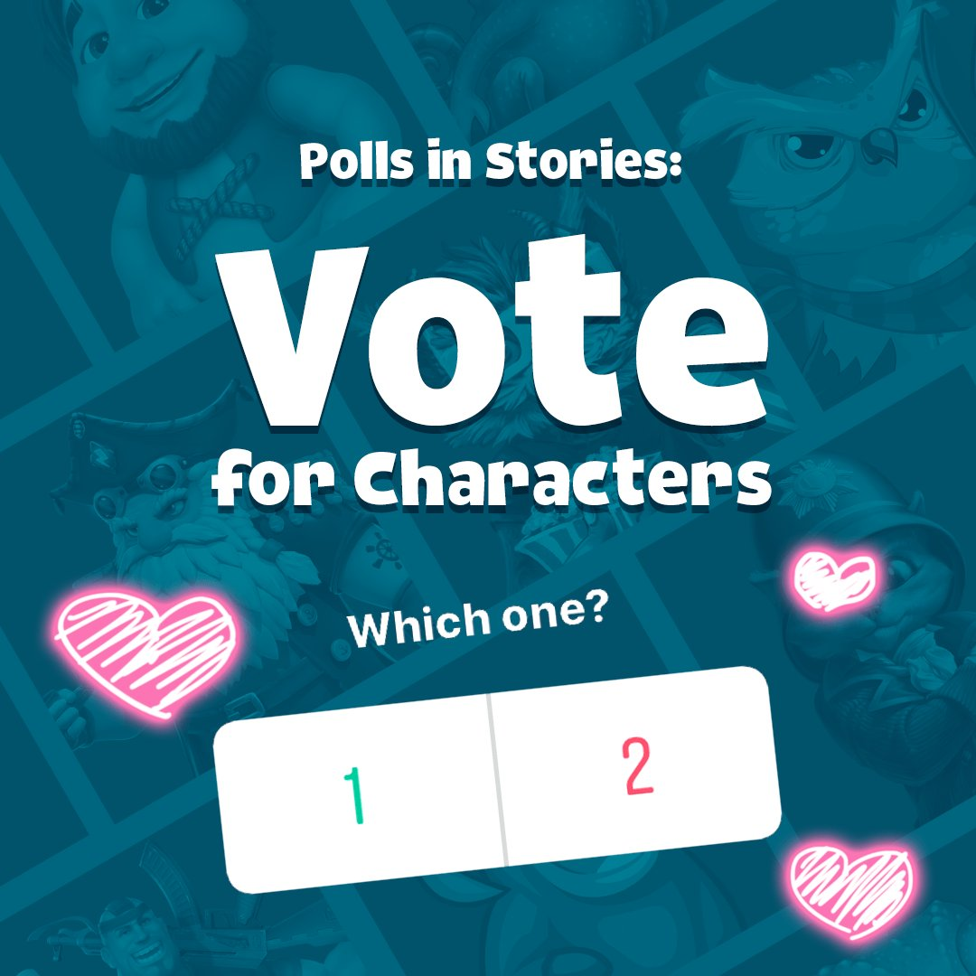 New polls on Instagram Stories are fun, so vote to let us know who's you favorite character! ➡ https://t.co/zoWbyP8o08 💚 https://t.co/uKimkLuves