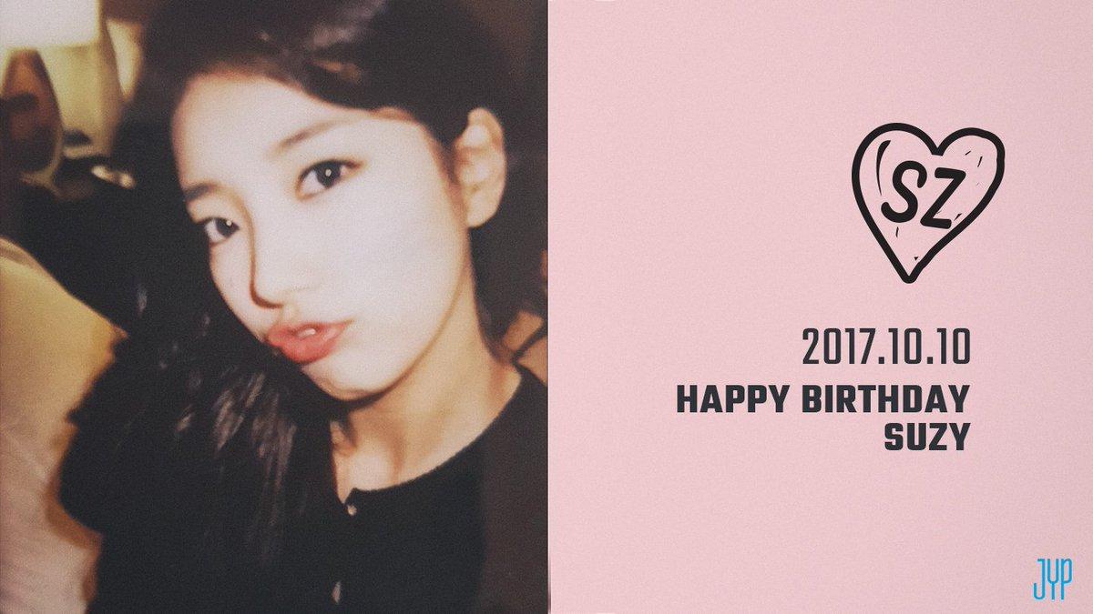 Happy Birthday SUZY  #HappySUZYday https://t.co/PYFQpumQK2