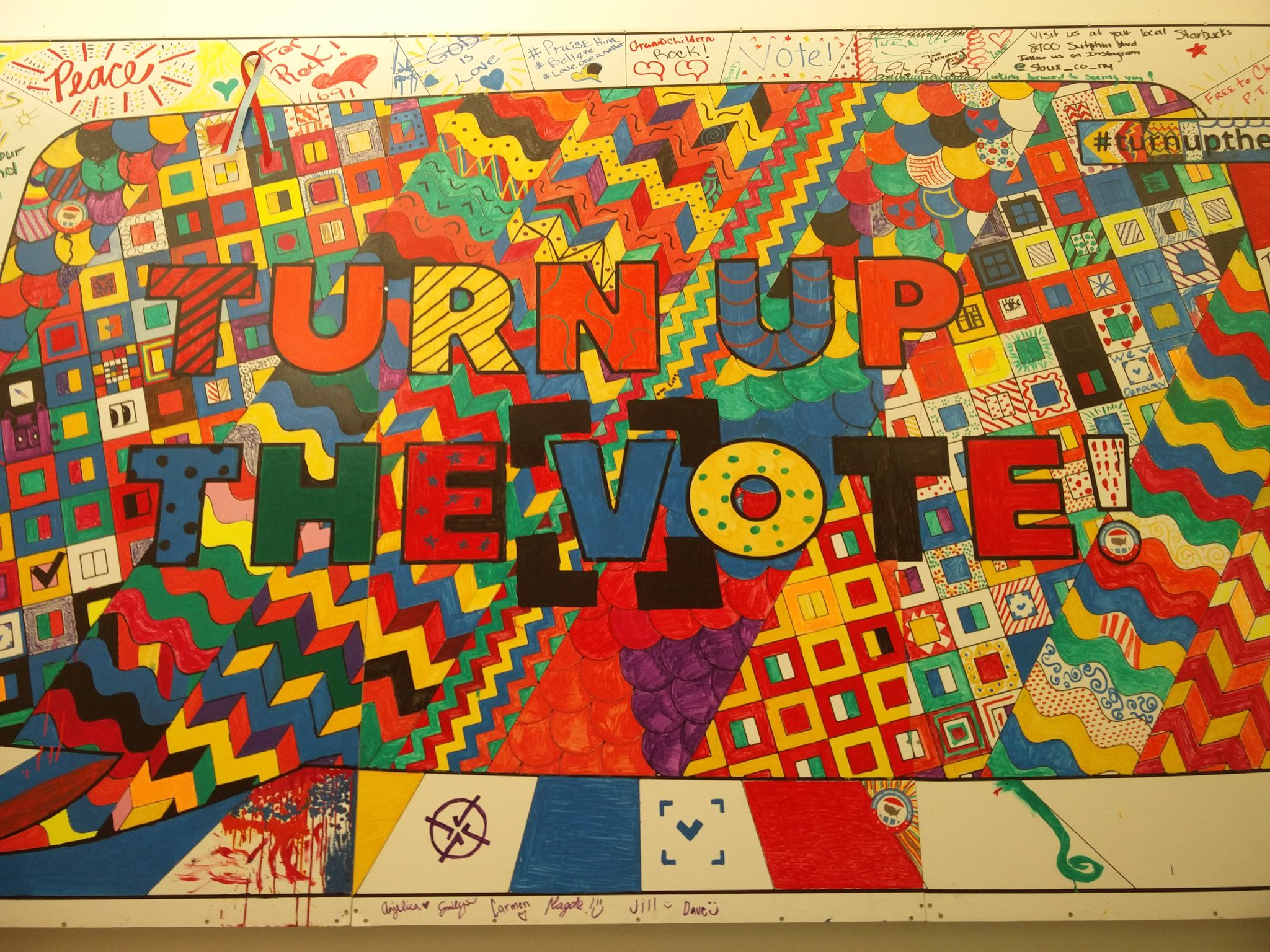 Turn up the vote!