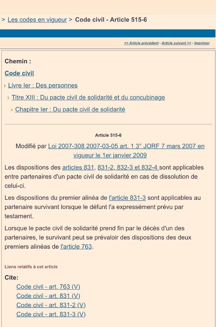 Haussmann Notaires On Twitter Pacs Sans Testament En Cas De
