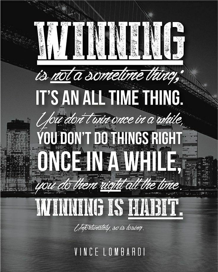 Take it from one of the greatest coaches of all time, Vince Lombardi. Have a great week!  #MotivationMonday #vincelombardi <br>http://pic.twitter.com/uSHXEChSZG