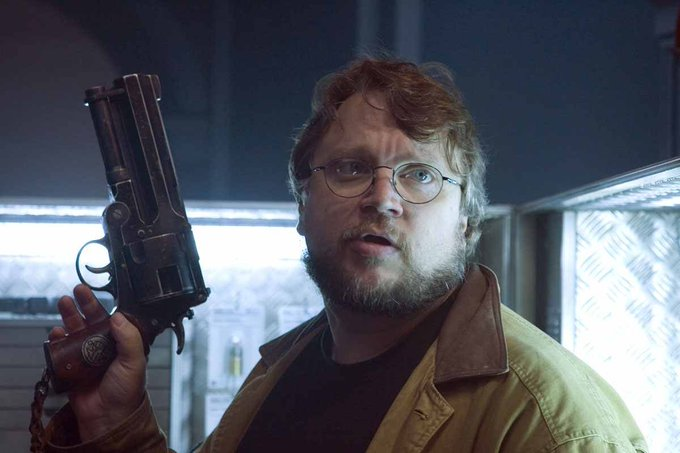 "\""I\m a lapsed altar boy.\""  Happy Birthday, Guillermo del Toro."