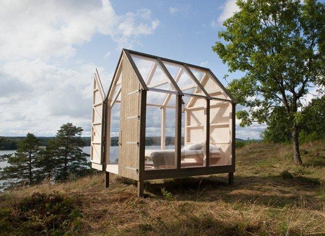 Suède : des cabanes en verre pour déstresser - scoopnest.com