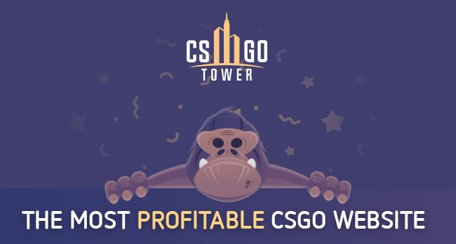 🔥 🔥 CSGOTOWER is giving away $500 🔥 🔥  Come to the http://csgotower.com right now because Harambe is about to donate $500!! #mysterybox
