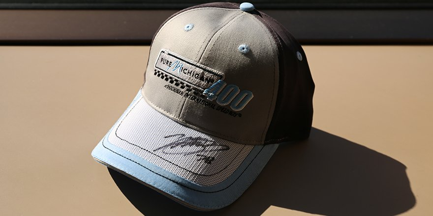 In honor of @MartinTruex_Jr's win yesterday, we are giving away this autographed MTJ hat! RT for your chance to win. https://t.co/N4kZmZzoOz