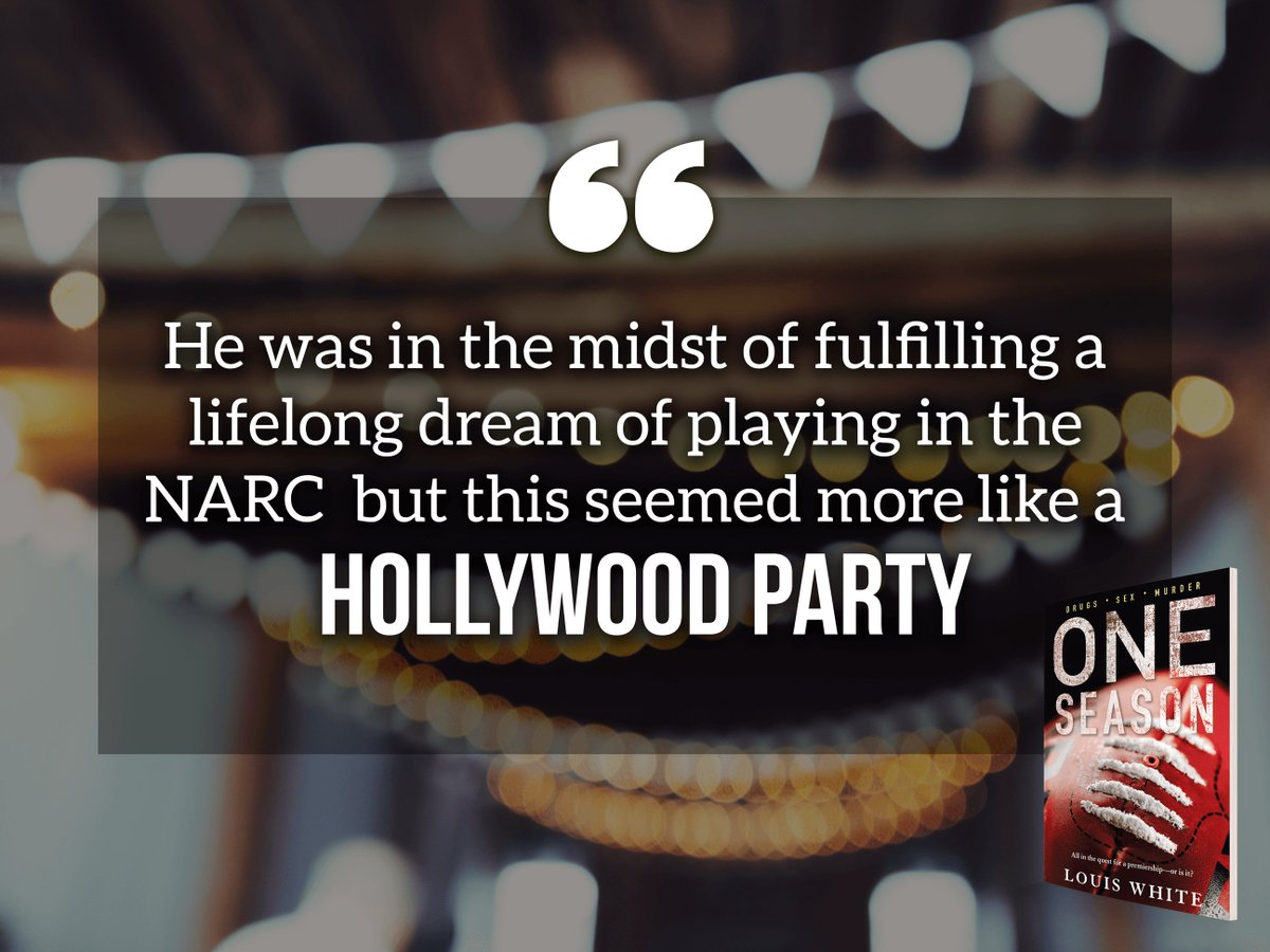 #ONESEASON: a prof #sportsman fulfilling a lifelong #dream of playing in the #NARC but seemed more like a Hollywood party  #newbook<br>http://pic.twitter.com/5kdYrReeFi
