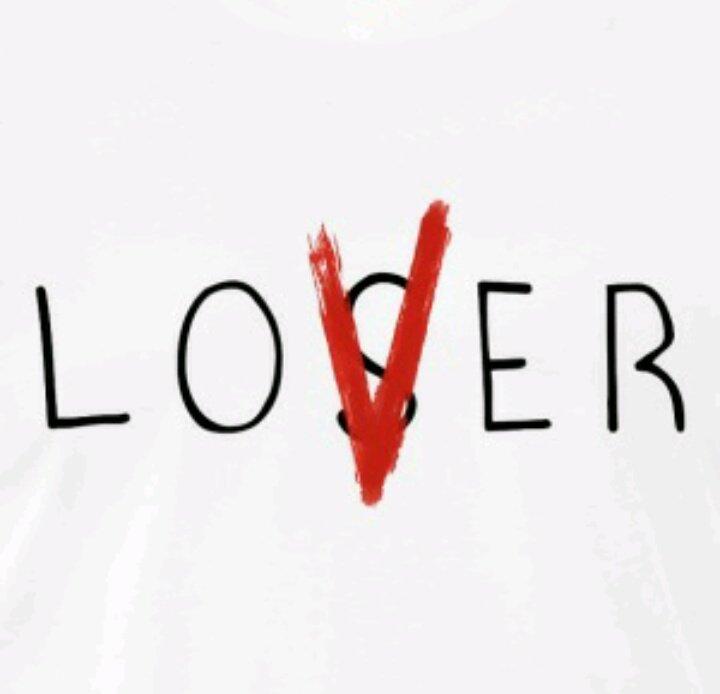 Love finn wolfhard on twitter loser no lover forever for Loser lover tattoo