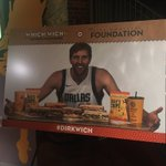 Tune in as @swish41 and @whichwich unveil the new Mavs-themed menu! Proceeds benefit Dirk's Foundation!  🎥: https://t.co/WXWH6rUkjz