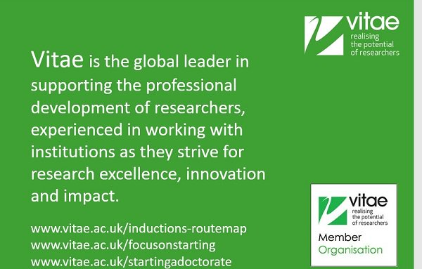 Slides for members to adapt for inductions especially created for busy researcher developers  http:// bit.ly/2z9LKvg  &nbsp;   #vitae17 <br>http://pic.twitter.com/Cflow3yd1h