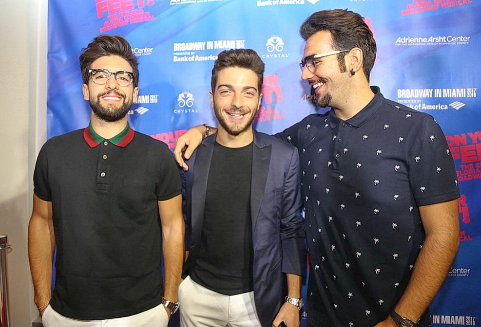 Italian operatic pop trio @ilvolo at the #OnYourFeet National Tour Opening Night by Jipsy Castillo/NBC Miami  https://www. nbcmiami.com/blogs/latin-be at/On-Your-Feet-Opeinging-Night-449921963.html &nbsp; …  #ilvolo<br>http://pic.twitter.com/rZdYUW0QO9