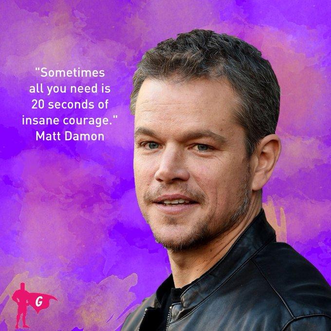 Happy birthday, Matt Damon! Are you getting this greeting up at Mars?