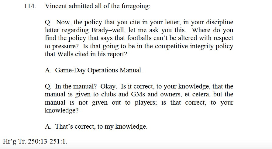 Troy Vincent Game Operations Manual Deflategate Troy