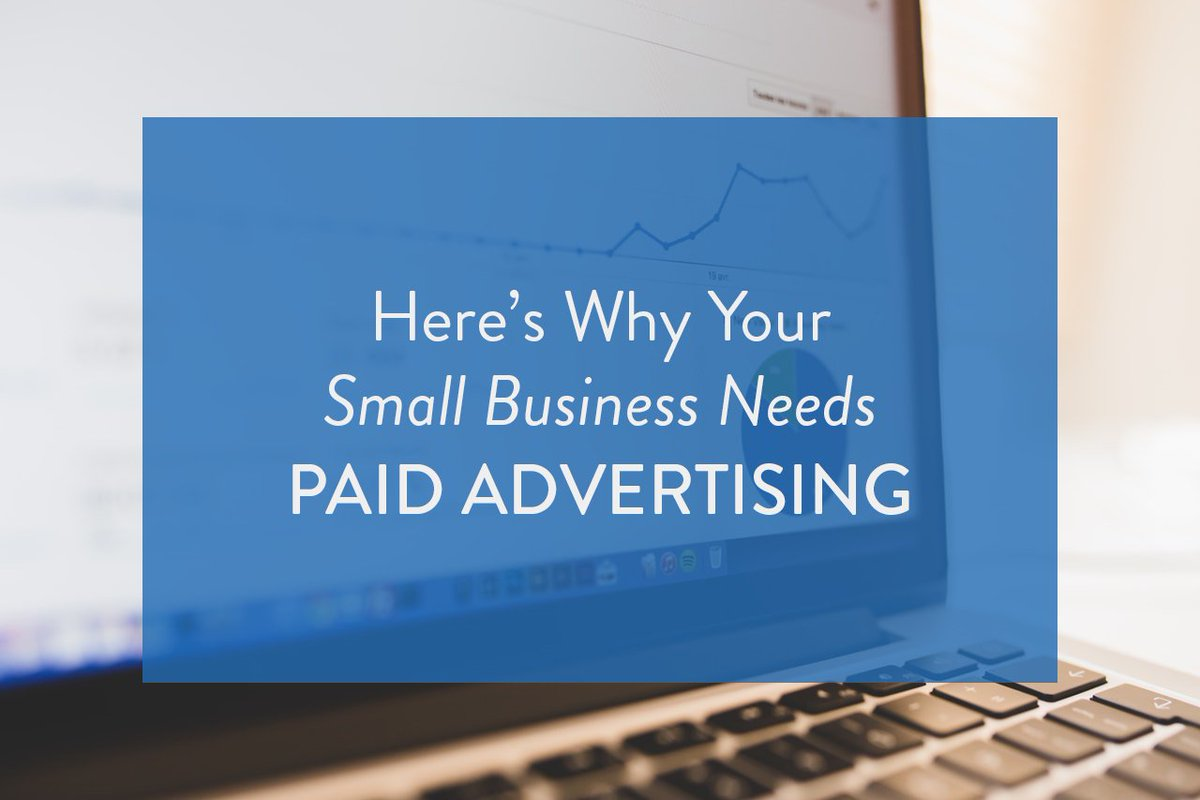 4 Reasons Your Small Business Needs Paid Advertising -   https://www. hatchbuck.com/blog/small-bus iness-paid-advertising/ &nbsp; …  #PPC @Hatchbuck #marketing #business #paidadvertising <br>http://pic.twitter.com/Fgr0t3Vx4i