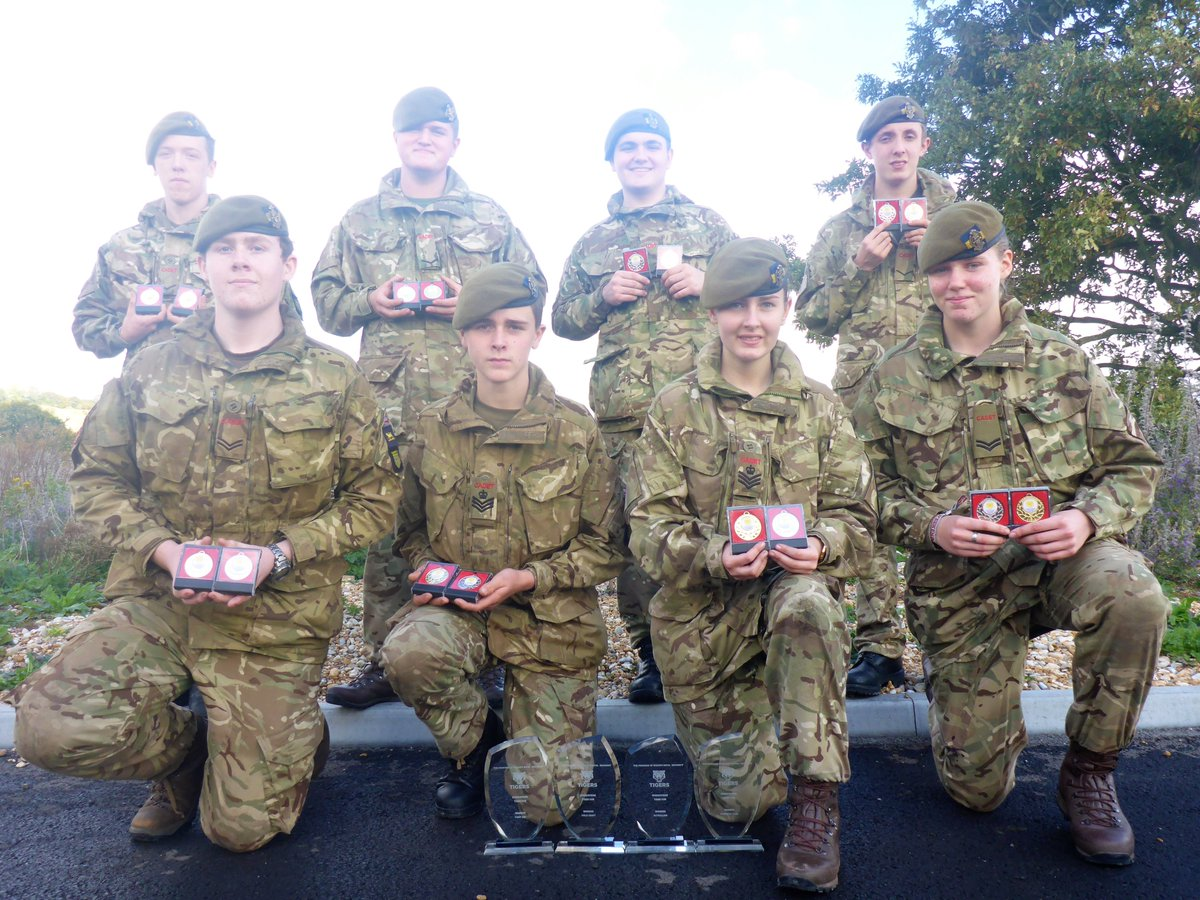 """Afx Army Cadets surrey army cadets on twitter: """"exercise tiger cub run"""