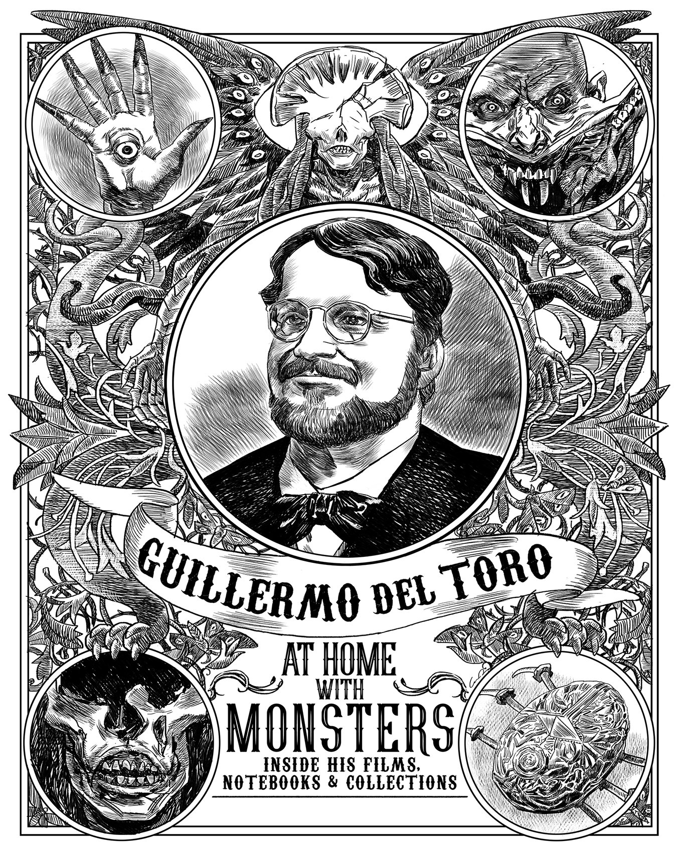 Happy 53rd Birthday to Guillermo del Toro!! ~ monstrous cheers to many more adventures ahead!