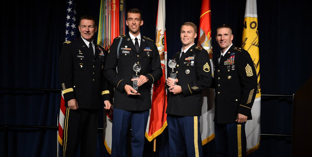 NCO and Soldier of the Year announced by @USArmy at #AUSA2017 - https://t.co/xvnujuoYgB https://t.co/rJaSrsGRhL