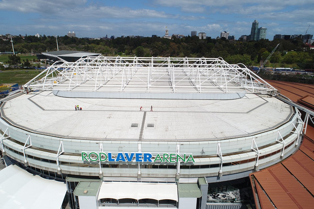 Ausopen On Twitter Quot Playing On The Rodlaverarena Roof