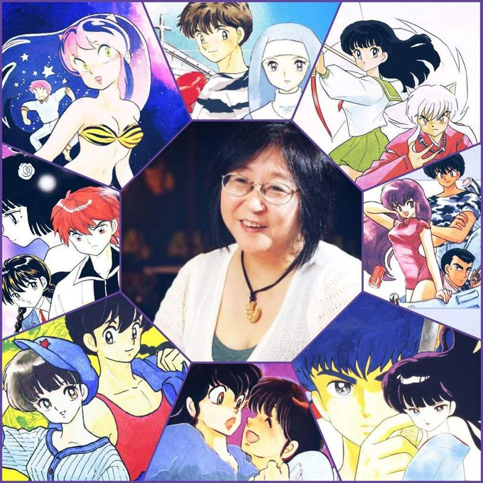 October 10 - HAPPY BIRTHDAY RUMIKO TAKAHASHI!!!!