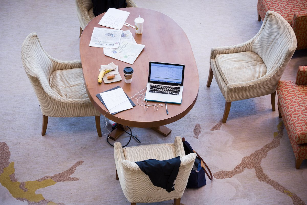 Mid-terms are happening. Where's your study spot, #bizdeacs?