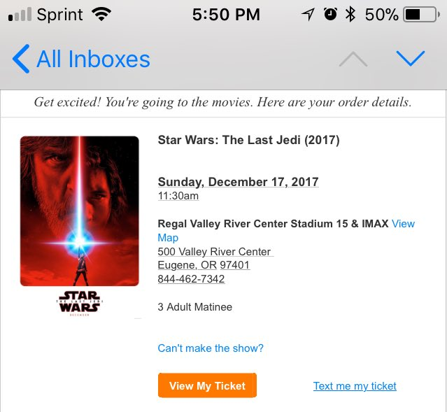 Brian Gill On Twitter Y All Got Anymore Of Them Star Wars Tickets