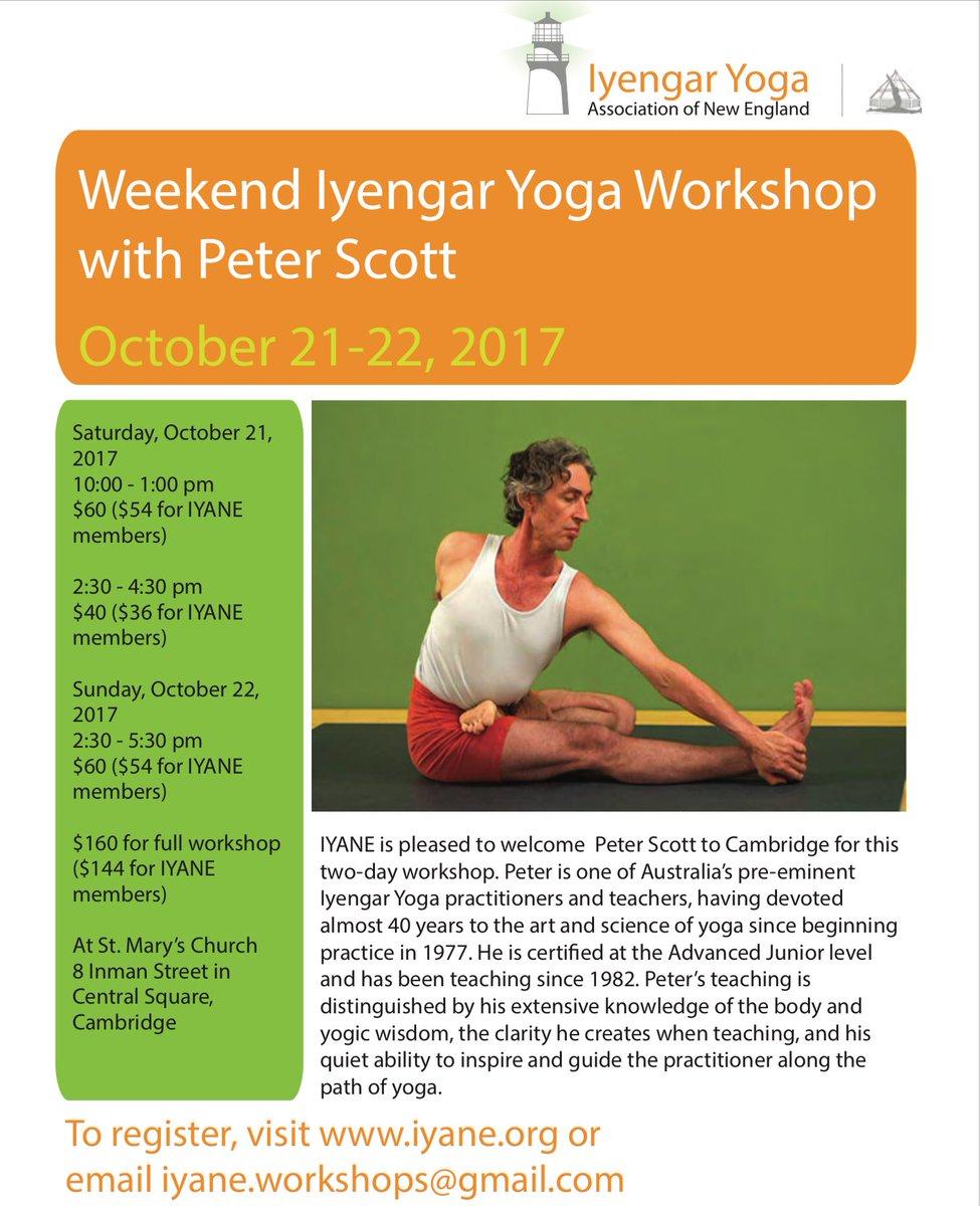 Iyengar Yoga Boston