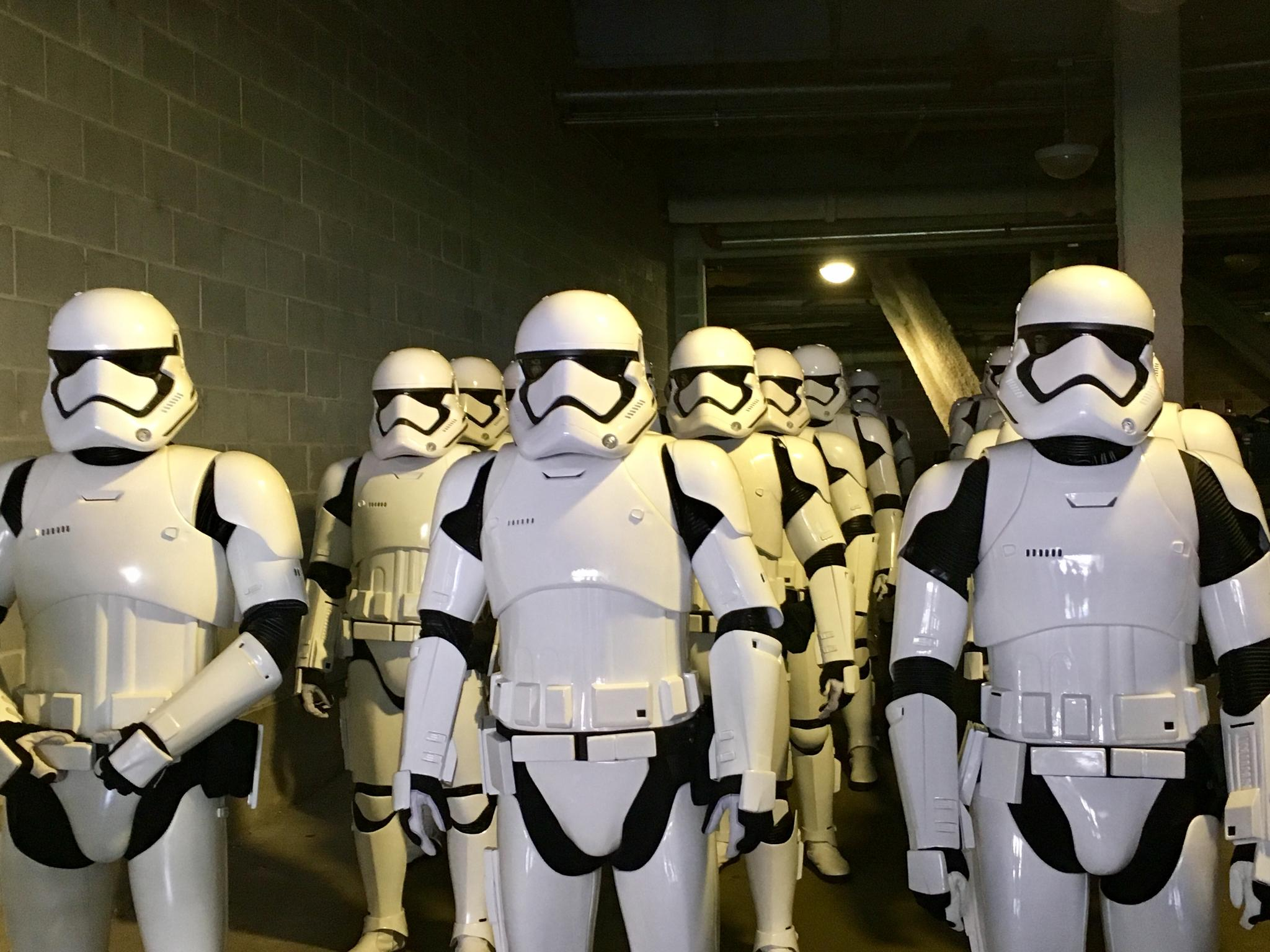 Skipping the 2nd half?   These guys find your lack of faith disturbing. #TheLastJedi https://t.co/hPCDmeEeSZ