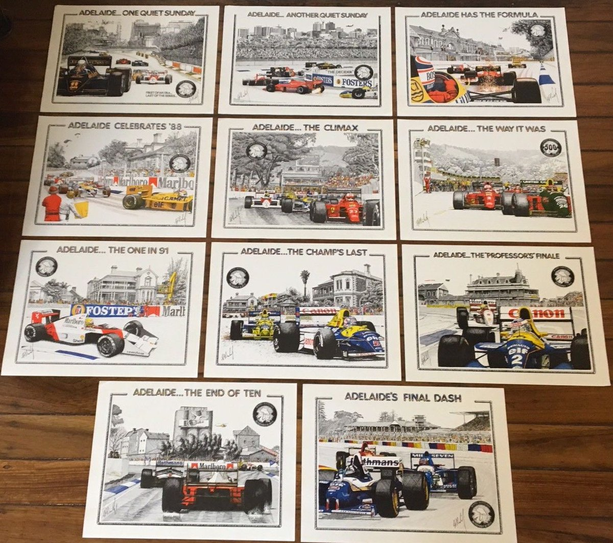 Adelaide Gp On Twitter Complete Collection Of These Iconic