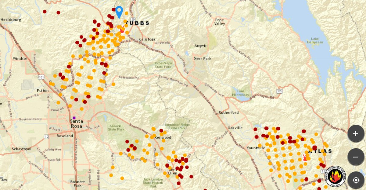 Bick2you On Twitter Best Active Fire Map By Far Feel Free To Pass