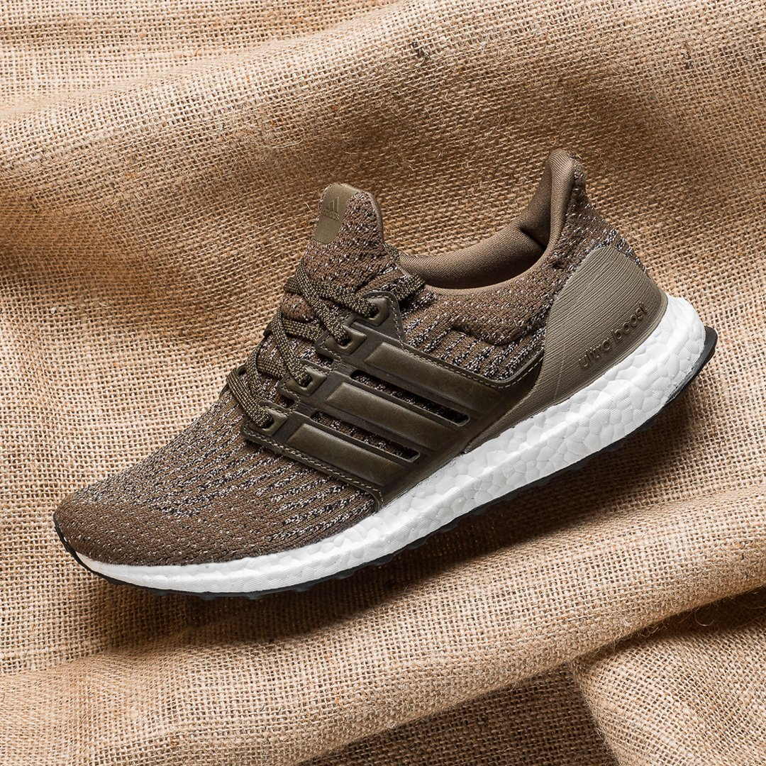 Look Out For The adidas Ultra Boost 3.0 Trace Olive