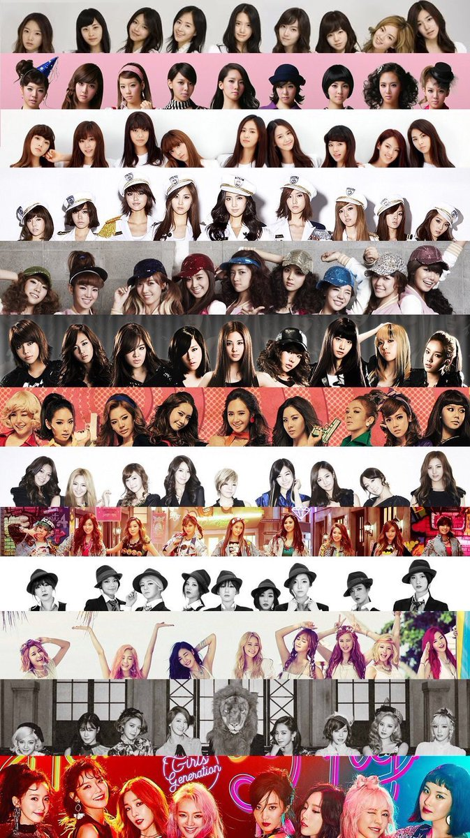 10 years with girls' generation #SNSD <br>http://pic.twitter.com/Q61zjdre2x